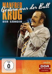 Cover Manfred Krug - Manfred Krug der Sänger - Gestern war der Ball [DVD]